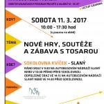 První volnočasový program ve Slaném 2017