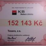 Nadace Jistota KB podpořila náš předškolní klub