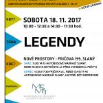 Sobotní program ve Slaném na téma legendy