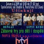 Tosara na oslavách Mezinárodního dne Romů ve Slaném