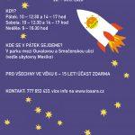 Vesmírný příměstský tábor ve Slaném, 28.-30.8.2020