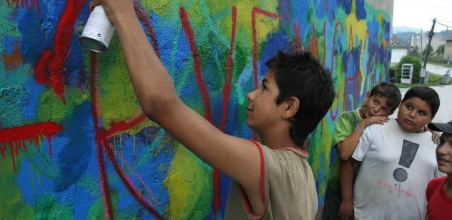 Malování na zeď II